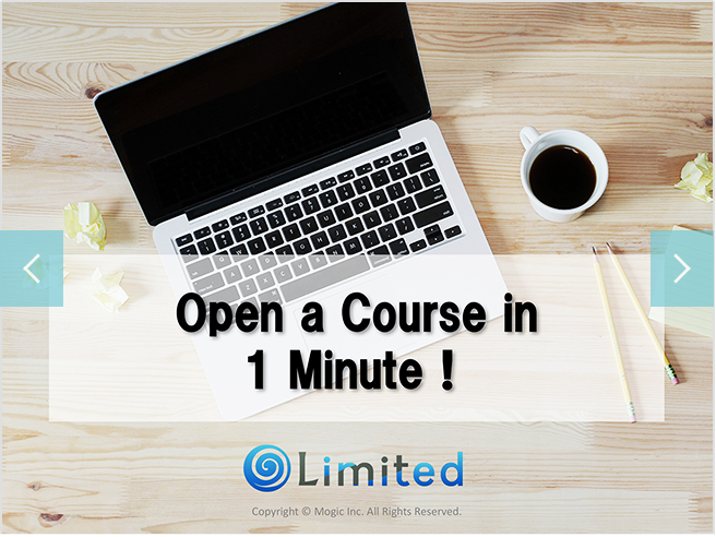 Start an online course in 1 minute